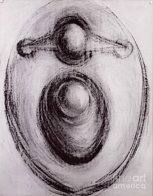 Sculpture - Study For Scuplture by Robert F Battles