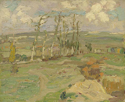 Painting - Study For Vimy Ridge From Souchez Valley by Alexander Young Jackson