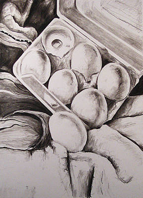 Study In Black And White Art Print by Amy Williams