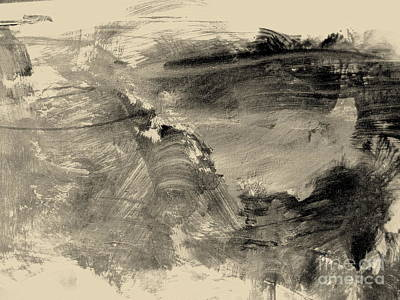 Painting - Study In Black And White by Nancy Kane Chapman