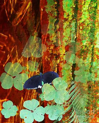 Nature Study Digital Art - Study In Green And Brown by Desiree Paquette
