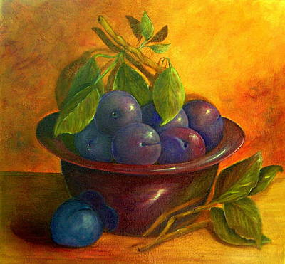 Painting - Study In Purple by Susan Dehlinger