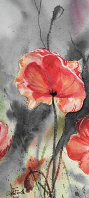 Study In Red Art Print by Glenn Farrell