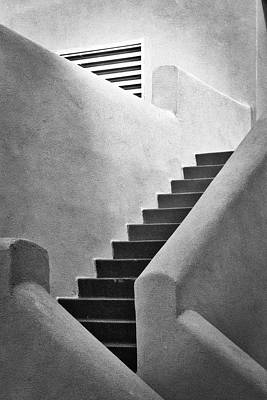Photograph - Study In Stairs by Mark David Gerson