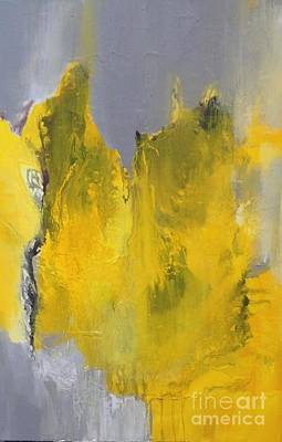 Painting - Study In Yellow And Grey by Elaine Callahan