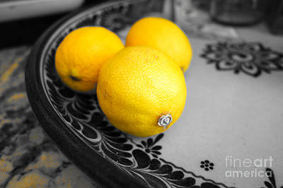 Photograph - Study Of A Lemon by Kip Krause