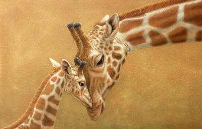 Study Of A Parental Bond Art Print