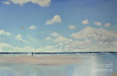 Painting - Study Of Blue Nr 1 by Maja Sokolowska