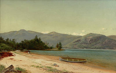 Study Of Nature Art Print by Lake George