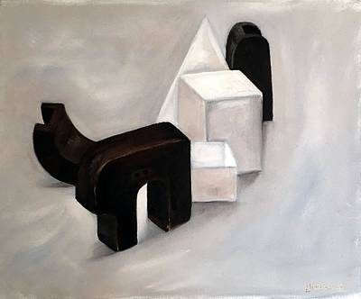 Painting - Study Of Shape by Lyndsey Hatchwell