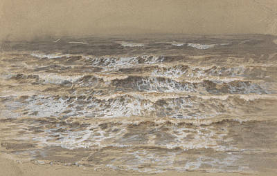 Painting - Study Of Waves by Samuel Palmer