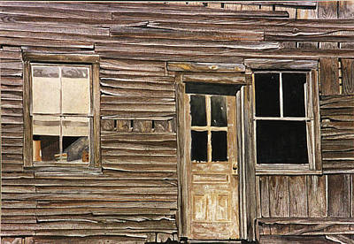 Painting - Study Of Wood by Jean Sumption