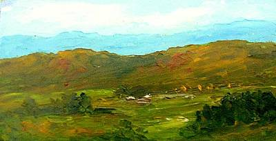 Study Ranch Land Art Print by Fred Wilson