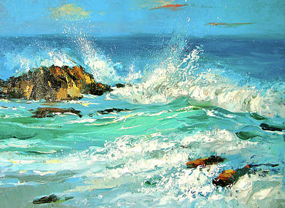 Painting - Study Wave by Dmitry Spiros