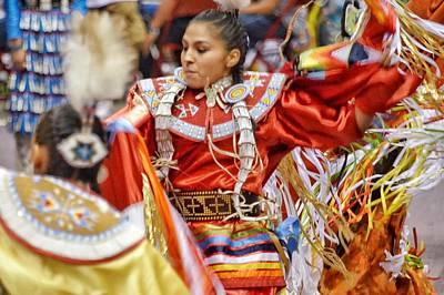 Photograph - Studying Keya Clairmont 2 by Clarice Lakota