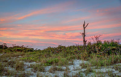 Photograph - Stump Pass Sunset by R Scott Duncan