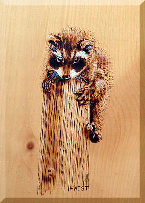 Pyrography - Stumped by Ron Haist