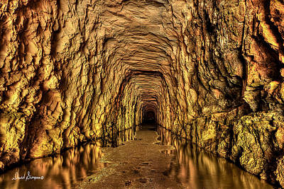 Clemson Wall Art - Photograph - Stumphouse Tunnel by David Simpson