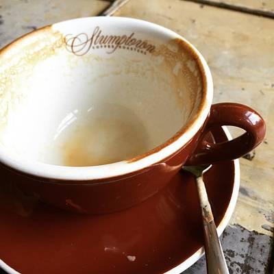 Americano Photograph - Stumptown Cup by Nancy Ingersoll