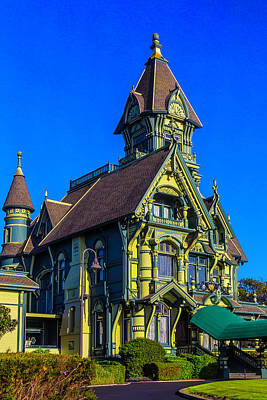 Stunning Carson Mansion Art Print by Garry Gay