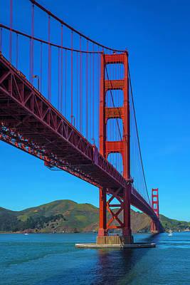 Photograph - Stunning Golden Gate Bridge by Garry Gay