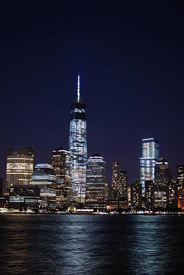 Photograph - Stunning Nyc Skyline At Night - Vertical by Matt Harang