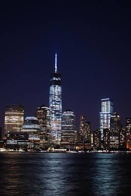 Photograph - Stunning Nyc Skyline At Night - Vertical by Matt Harang