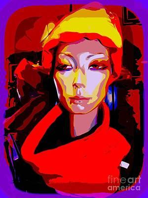 Digital Art - Stunning Simone by Ed Weidman