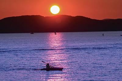 Photograph - Stunning Sunset At Lake Champlain, Vt by Sven Kielhorn