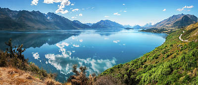 Photograph - Stunning View From A Famous Scenic Lookout At Lake Wakatipu by Daniela Constantinescu