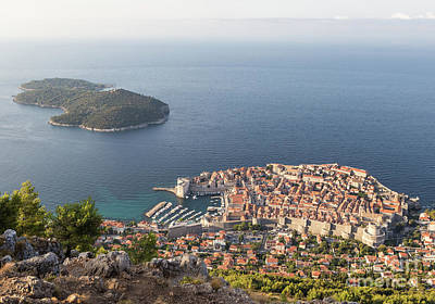 Photograph - Stunning View Of Dubrovnik In Croatia by Didier Marti