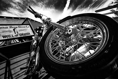 Photograph - Stunt Bike by Kevin Cable