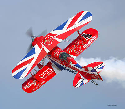 Art Print featuring the photograph Stunt Plane by Roy  McPeak