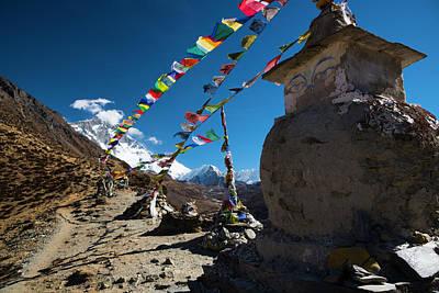 Photograph - Stupa  by Owen Weber