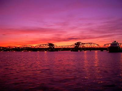 Sturgeon Bay Sunset Art Print by Jeremy Evensen