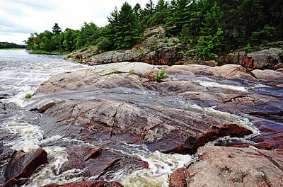 Photograph - Sturgeon Chutes I by Debbie Oppermann