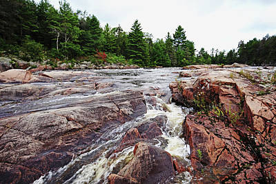 Photograph - Sturgeon Chutes IIi by Debbie Oppermann