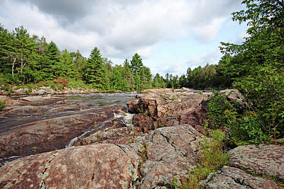 Photograph - Sturgeon Chutes Iv by Debbie Oppermann