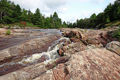 Photograph - Sturgeon Chutes V  by Debbie Oppermann