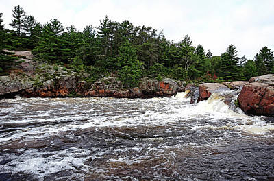 Photograph - Sturgeon Chutes Vii by Debbie Oppermann