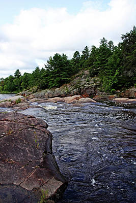 Photograph - Sturgeon Chutes Xii by Debbie Oppermann