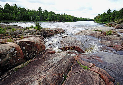 Photograph - Sturgeon Chutes Xiii by Debbie Oppermann