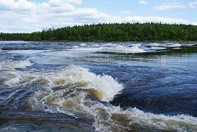 Photograph - Sturgeon Falls Manitoba by Joanne Smoley