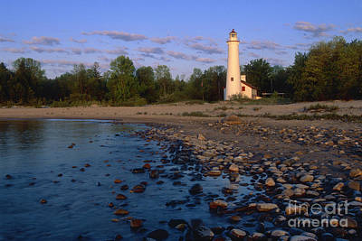 Photograph - Sturgeon Point Lighthouse - Fs000119 by Daniel Dempster