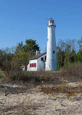 Photograph - Sturgeon Point Lighthouse by Fran Riley
