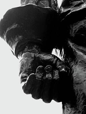 New York City Photograph - Stuyvesant's Hand by Sandy Taylor