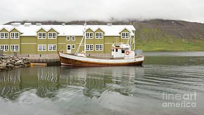 Photograph - Stykkisholmur Harbor Iceland by Edward Fielding