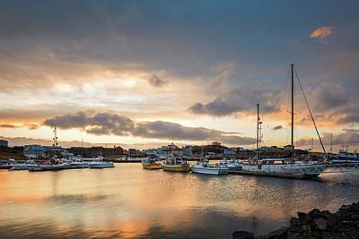 Photograph - Stykkisholmur Harbour by Mihai Andritoiu