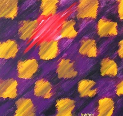 Jamiroquai Painting - Stylaphonic by Cyryn Fyrcyd