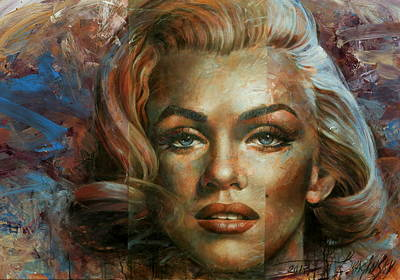 Wall Art - Painting -  Style Icon Marilyn by Arthur Braginsky